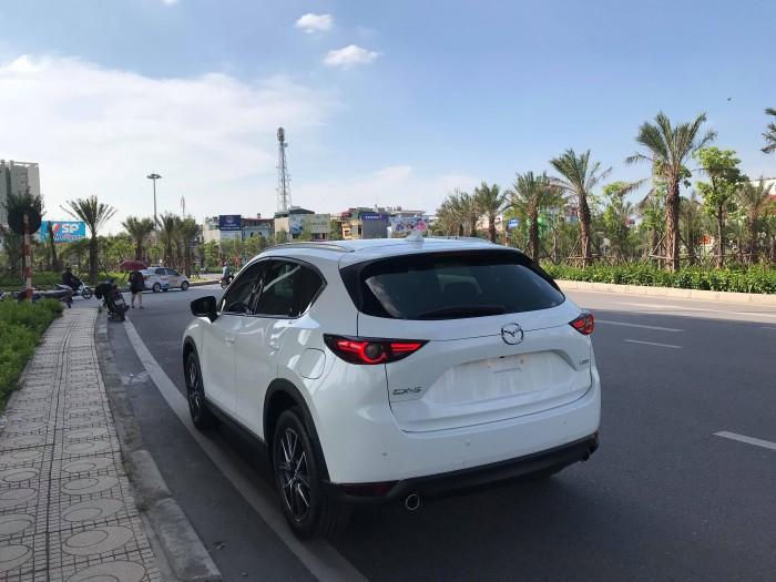 CX5 2018 màu trắng