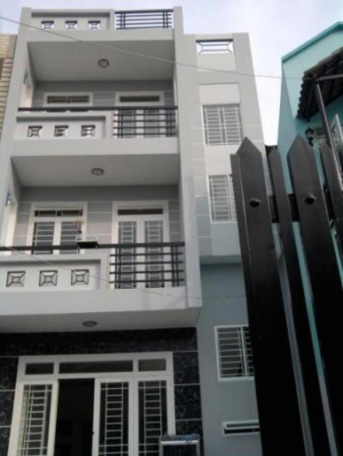 Nhà đường Huỳnh Tấn Phát, Q.7, diện tích 105.3m2, ngang 5.1m.