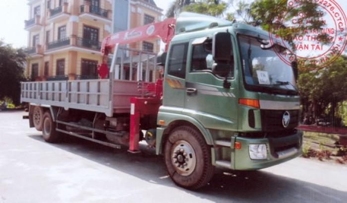 Thaco Auman C1500/P230 gắn cẩu 5 tấn UNIC model URV554 | Hỗ trợ khách hàng mua xe trả góp