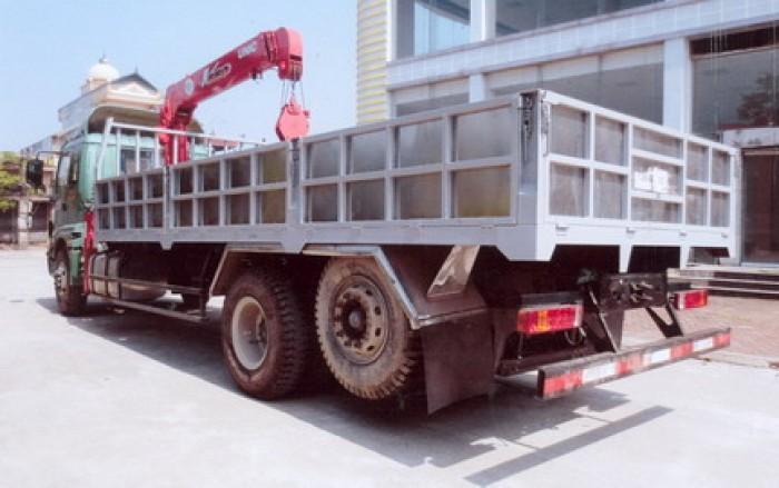 Thaco Auman C1500/P230 gắn cẩu 5 tấn UNIC model URV554   Hỗ trợ khách hàng mua xe trả góp 1