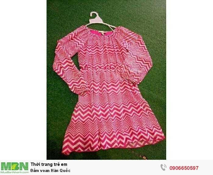 Đầm voan Hàn Quốc0