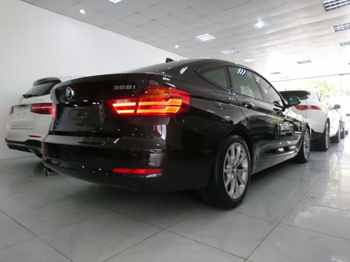 BMW 328GT model 2015 màu nâu nội thất kem 9