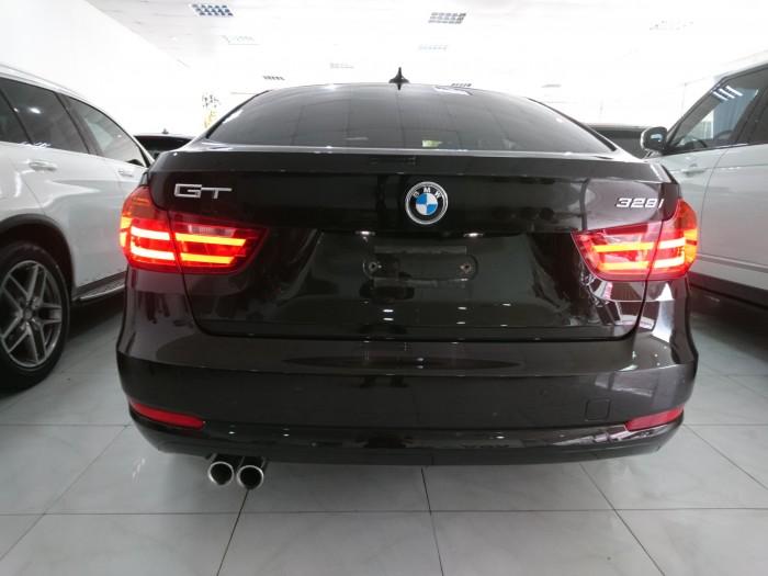 BMW 328GT model 2015 màu nâu nội thất kem 8