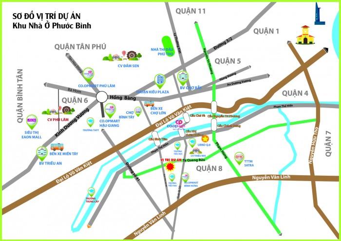 Dự án nhà phố MT Tạ Quang Bửu Q8, cam kết lãi từ 500tr trong vòng 12 tháng