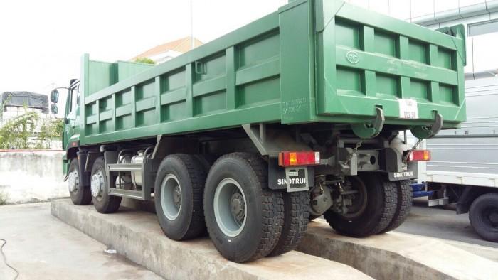 Cần Bán Xe Ben 3 Giò 11 Khối - Bán Xe Ben SinoTruck ST290D Hỗ Trợ Vay 80%