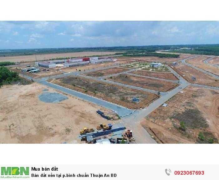 Bán đất nền tại p.bình chuẩn Thuận An BD