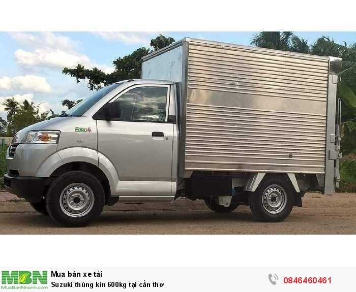 Suzuki thùng kín 600kg tại Cần Thơ 2