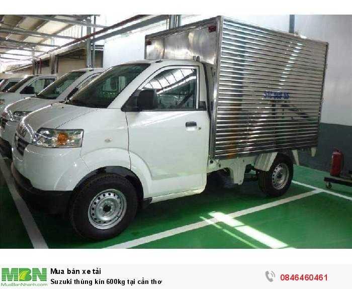 Suzuki thùng kín 600kg tại Cần Thơ 3