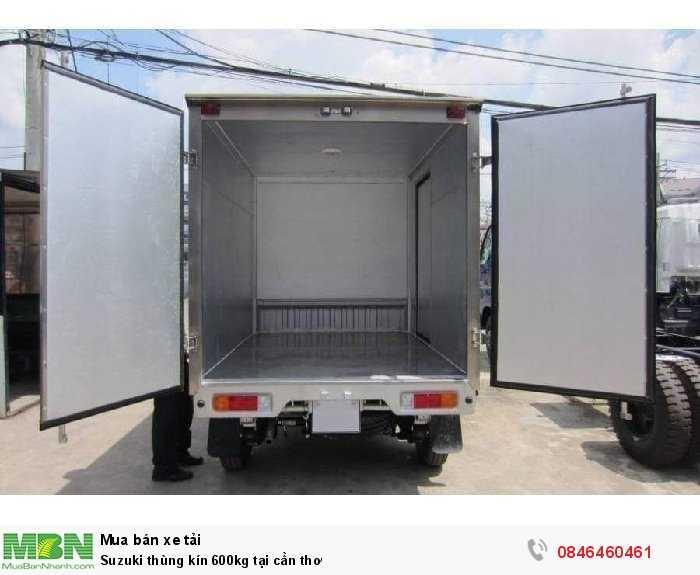 Suzuki thùng kín 600kg tại Cần Thơ 4
