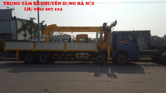 Thaco Auman C300 gắn cẩu 12 tấn SOOSAN model SCS1015LS | Hỗ trợ khách hàng mua xe trả góp 5