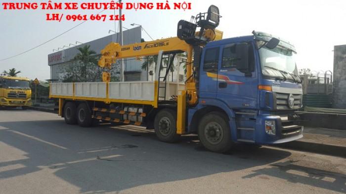 Thaco Auman C300 gắn cẩu 12 tấn SOOSAN model SCS1015LS | Hỗ trợ khách hàng mua xe trả góp 4