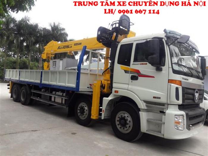 Thaco Auman C300 gắn cẩu 12 tấn SOOSAN model SCS1015LS | Hỗ trợ khách hàng mua xe trả góp 3