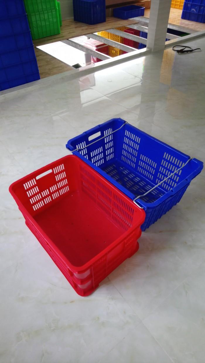 Chuyên bán rổ nhựa đựng hàng, rổ nhựa hình chữ nhật, sọt nhựa đựng đồ1