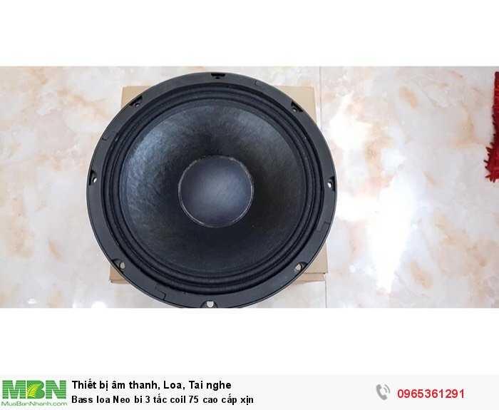 Bass loa Neo bi 3 tấc coil 75 cao cấp xịn2