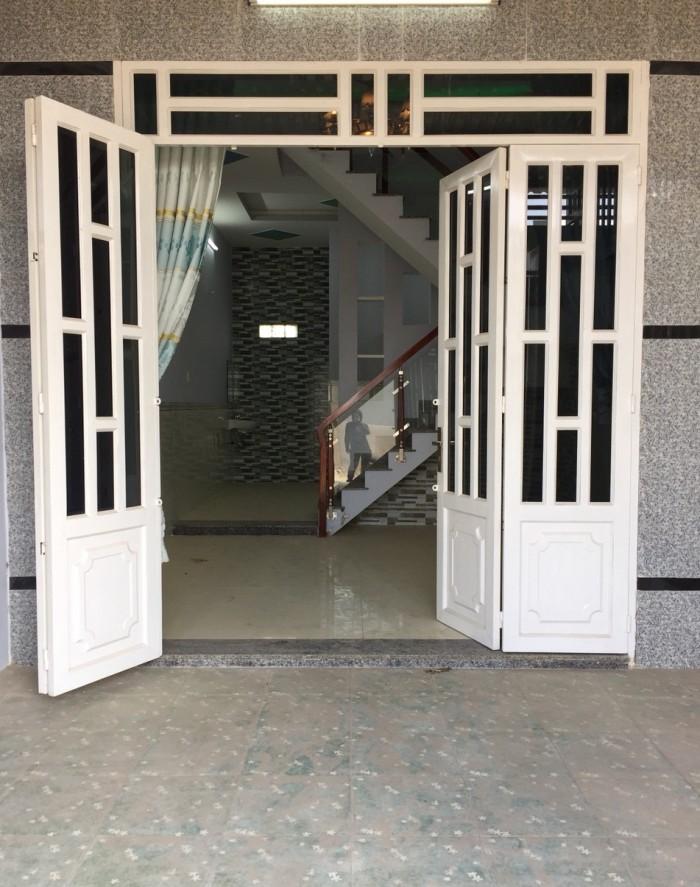 Nhà chợ XTT đường Phan Văn Hớn 4x12m 1 lầu đường 6m