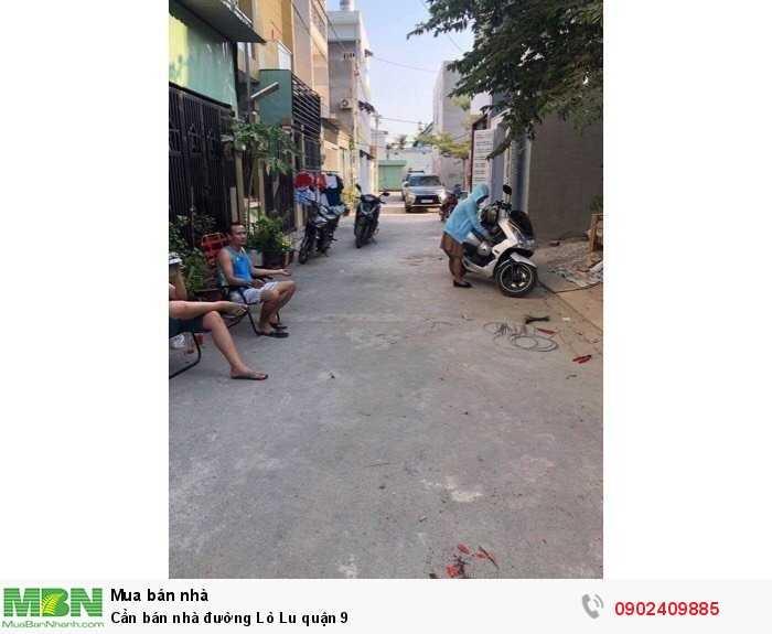 Cần bán nhà đường Lò Lu quận 9