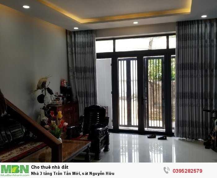 Nhà 3 tầng Trần Tấn Mới, sát Nguyễn Hữu