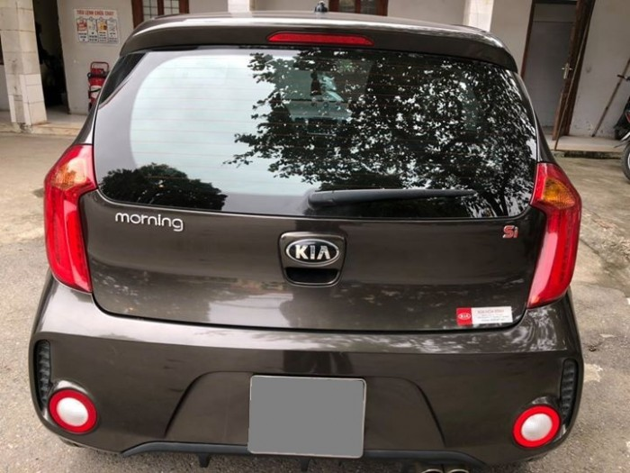Bán xe Kia Morning SI 2016 số sàn Xám nâu tuyệt đẹp 5