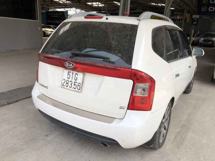 Bán Kia Carens S 2.0MT màu trắng số sàn sản xuất 2014 biển Sài Gòn