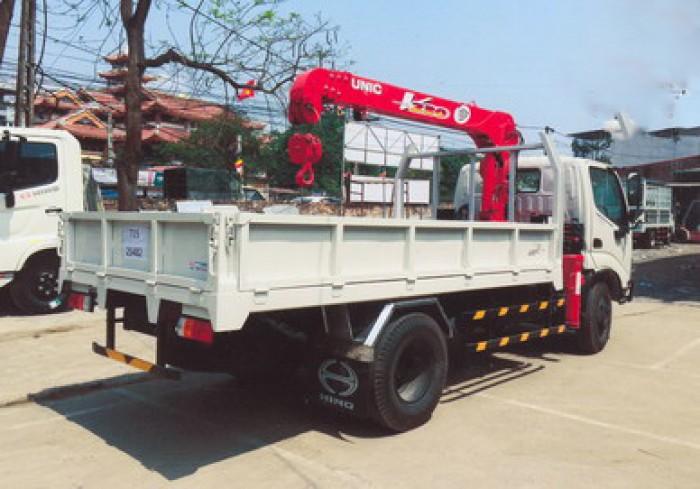 Xe tải 4 tấn HINO WU342L gắn cẩu 2 tấn UNIC model URV234 | Giá siêu khuyến mãi | Hỗ trợ khách hàng mua xe trả góp