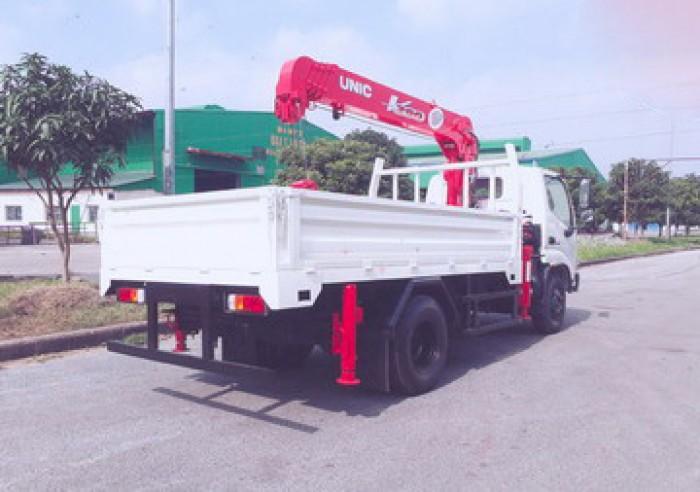 Xe tải 4 tân HINO XZU342L gắn cẩu 3 tân UNIC model URV295 | Hỗ trợ mua xe trả góp lãi xuất thấp | Giá siêu khuyến mãi