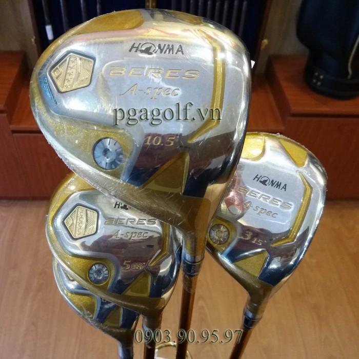 Fullset Bộ gậy golf Honma 5 sao Aspec chính hãng0