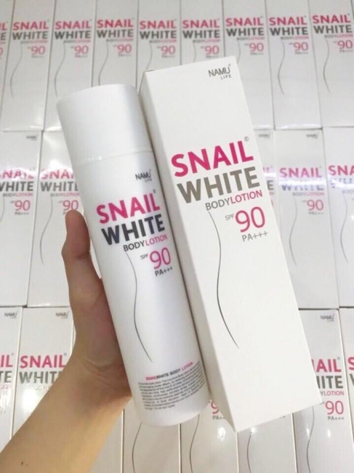 Kem Dưỡng Trắng Da Chống Nắng Body Cực Mạnh Snail White Body Lotiom
