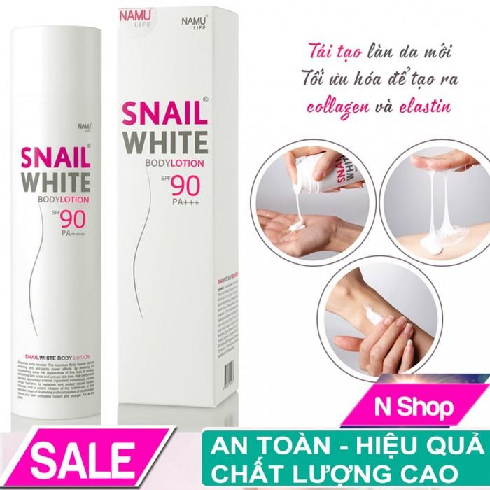 DƯỠNG THỂ SNAIL WHITE BODY LOTION