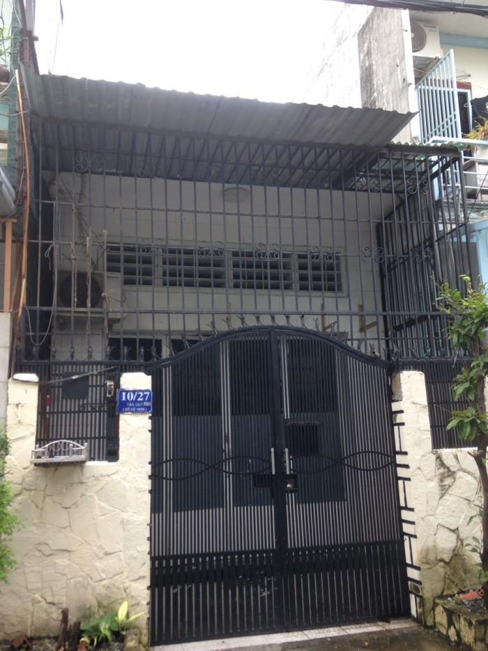 CC bán gấp nhà 192/1/ Phú Thọ Hòa 4.3x18.5m cấp 4