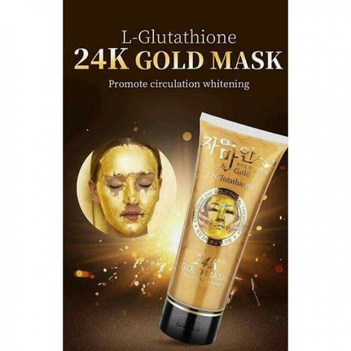 Mặt Nạ Vàng Colagen Gold 24k - Gel Lột Kích Trắng Da Hút Mụn Vàng 24k