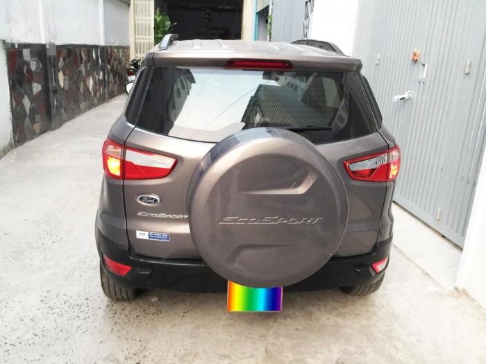 Cần tiền gấp bán Ford EcoSport 2015, số sàn, màu xám như mới