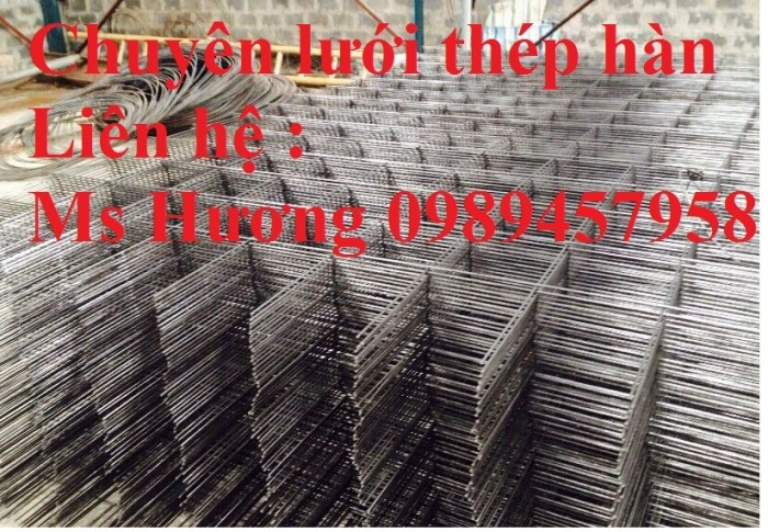Sản xuất lưới hàn chập D8 a 150x150, 200x200, D8 a 250*250, D8 300*3004
