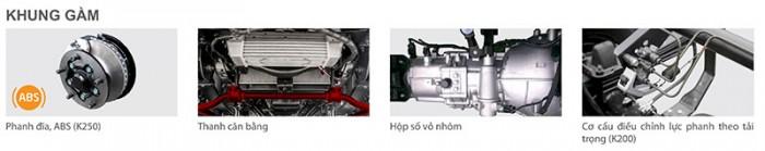 Xe Tải Kia K250 Sản Phẩm Mới Của K3000s Và K165 - Tải Trọng 2.49 Tấn