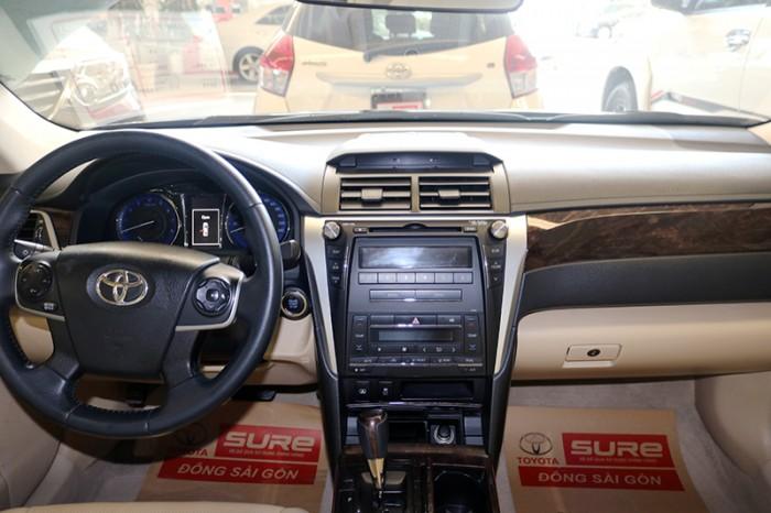 Bán xe Camry 2.0E sx 2015 màu xanh, xe sài kỹ, giá còn giảm sâu