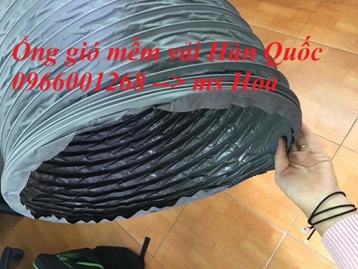 Ống gió mềm vải Tarpaulin - Fiber phi 200, phi 250, phi 300 và các loại khác4
