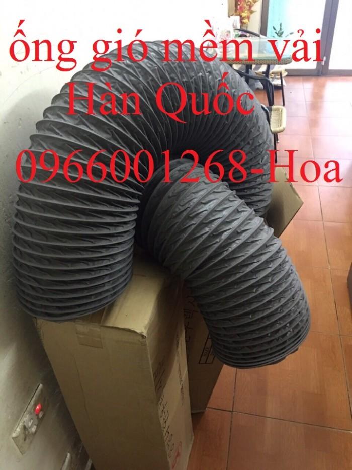 Ống gió mềm vải Tarpaulin - Fiber phi 200, phi 250, phi 300 và các loại khác2