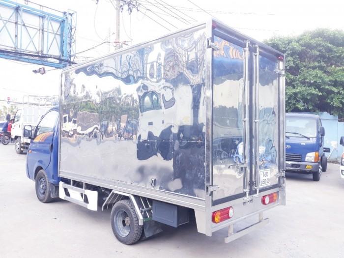HYUNDAI tải 1.5 tấn thùng kín full INOX - vào thành phố- TRẢ GÓP