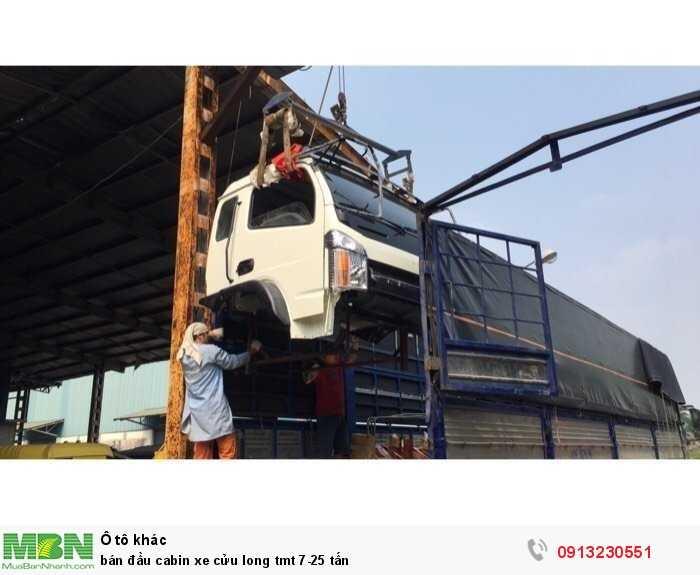 bán đầu cabin xe cửu long tmt 7-25 tấn