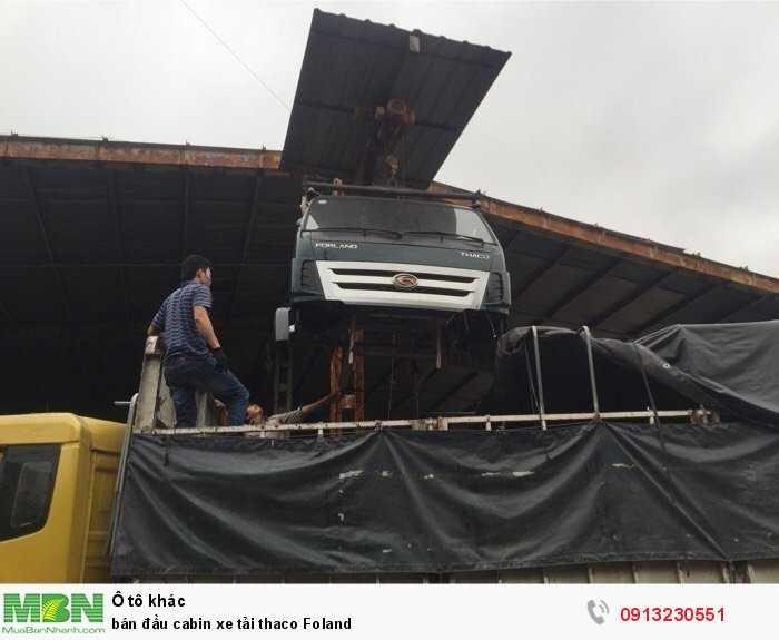 bán đầu cabin xe tải thaco Foland