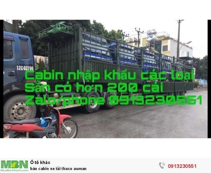 bán cabin xe tải thaco auman