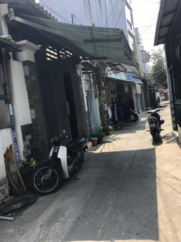 Bán nhà hẻm 4m Phú Thọ Hòa, 4.3mx18.5m, nhà nát , P.Phú Thọ Hòa, Q. TP