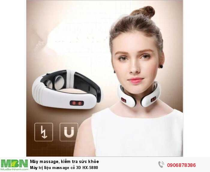 Máy trị liệu massage cổ 3D HX-58801