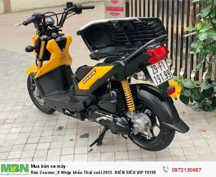 Bán Zoomer_X Nhập khẩu Thái cuối 2013- BIỂN SIÊU VIP 19199