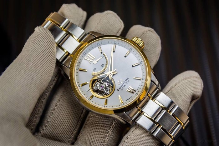 Đồng hồ Orient Star Open Heart RE-AT0004S00B