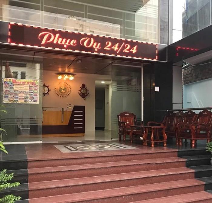 Bán khách sạn Gò Vấp, 300m, 35 tỷ, doanh thu 300 triệu/tháng