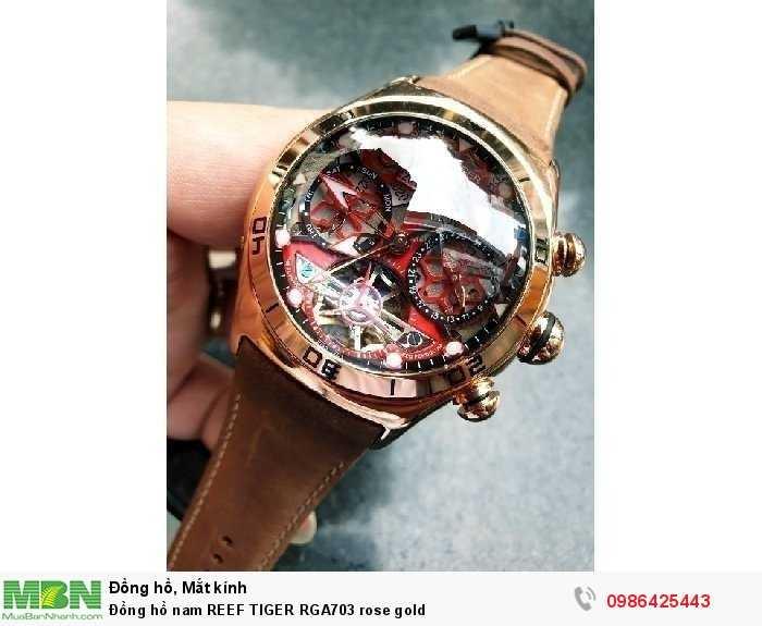 Đồng hồ nam REEF TIGER RGA703 rose gold1