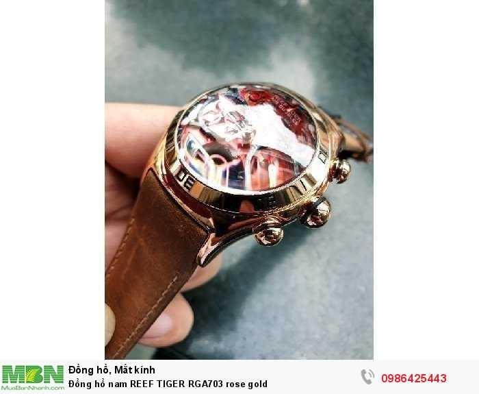 Đồng hồ nam REEF TIGER RGA703 rose gold2