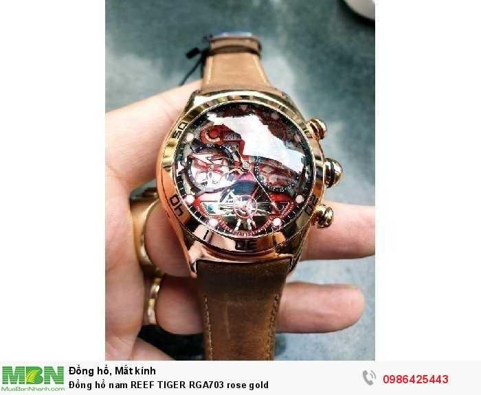 Đồng hồ nam REEF TIGER RGA703 rose gold3