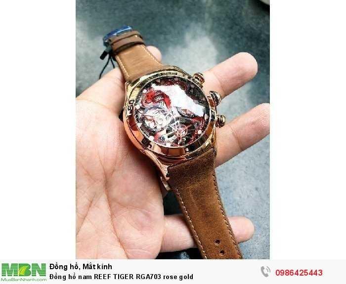 Đồng hồ nam REEF TIGER RGA703 rose gold4