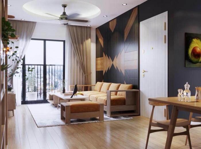 Gia đình tôi cần bán chung cư Green Stars căn 66,8m2, 02pn, ban công Đông Nam
